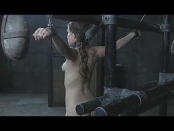 Slavegirl Milking in Restraints