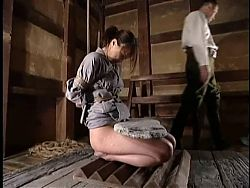 BDSM Japanese Soldier Hardcore Training Part 1