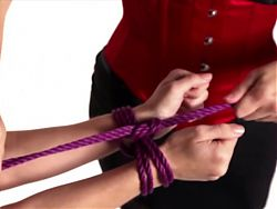 Milena - How to Tie my Wrists with Rope