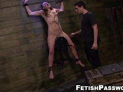 Roughly fucked sub babe dominated over and disciplined