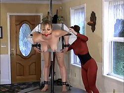 Slave on display
