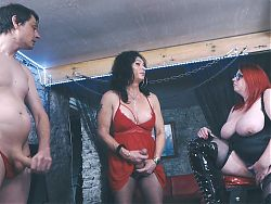 a couple and a maturetransvestite chat and play
