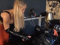Calea Toxic Vacuum, Wrapped, Tease and Denial Part1
