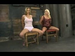A Mistress Plays with Two Blondes OtO