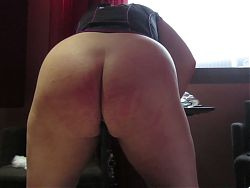 Eleventh Session: thirty strokes of the cane on her ass