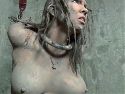 Girl gets humiliated in the mud 1