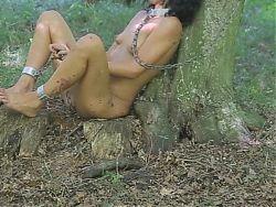 Luna tortured outdoor part4