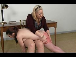 spanked for misbehaviour